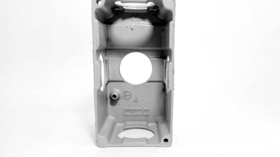 """Caixa Condulete 1' Aluminio - XPW-20/1 1"""" Wetzel"""