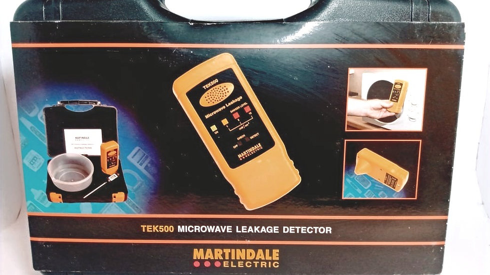 Detector de Vazamento Microndas TEK500 - Martindale Electric