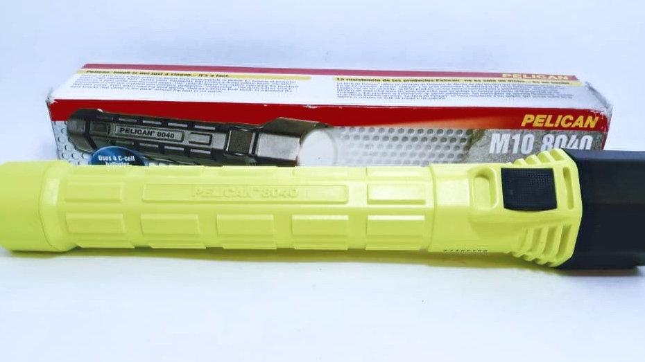 Lanterna Xenon Ex, 4 pilhas C Pelican M10 8040 IECEx