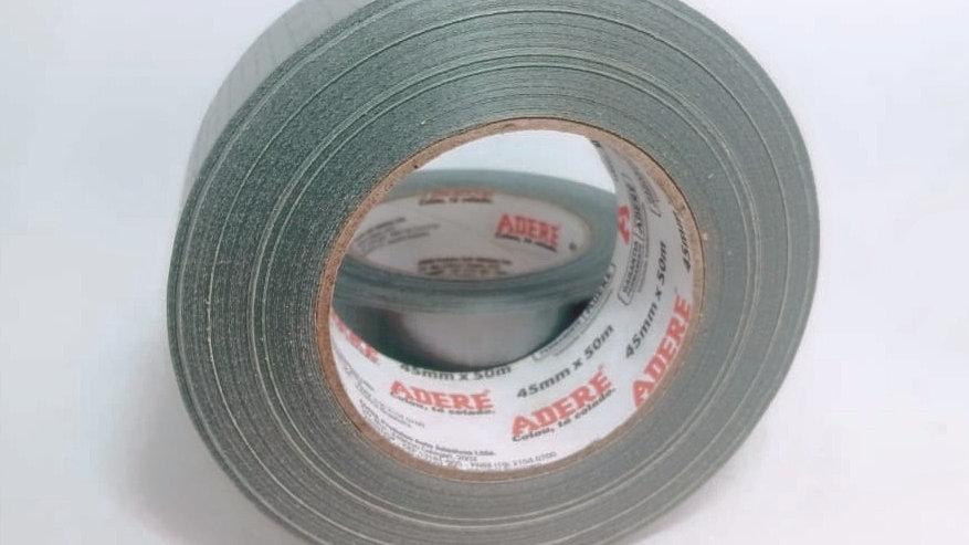 Fita Multiuso Silver Tape Prata 45MM X 50M Adere CÓD. 800