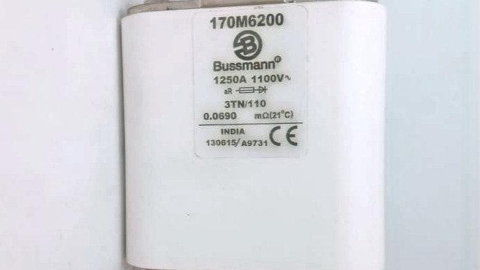 Fusível 3TN/110 1250A 1100V Bussmann 170M6200