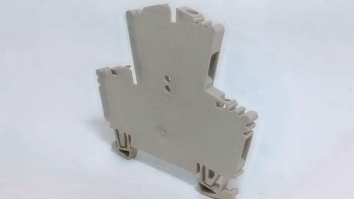 Conector Duplo Borne SAK 2,5mm² 24A 400V - Weidmuller REF. WDK2,5 / 1021500000