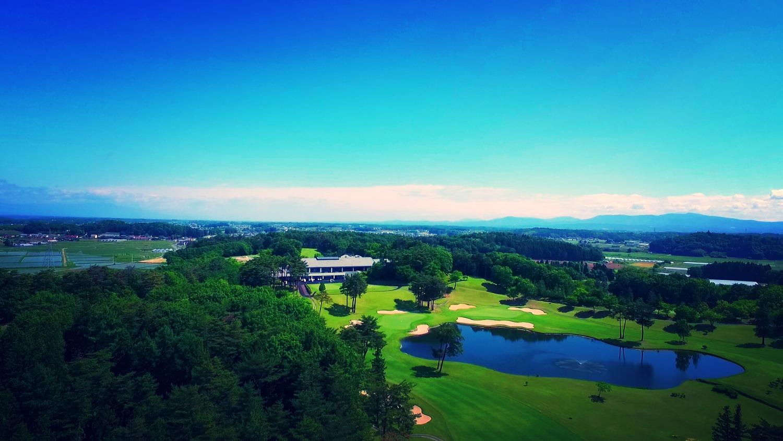 矢吹ゴルフ俱楽部メイン池