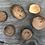 Thumbnail: Magnetpin-Set Holz