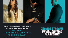 Good Fridays takes flight @ 52nd Dove Awards!