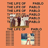 Natalis the singer The Life Of Pablo Cover Art
