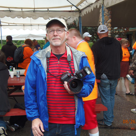Jeff Collins - Our fabulous volunteer photographer
