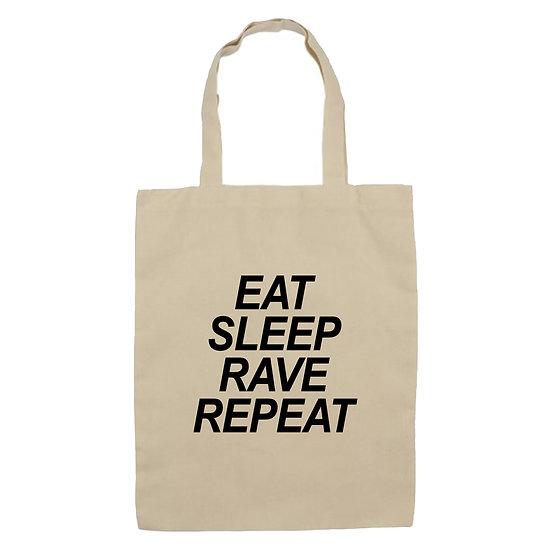 """Еко-торба """"Eat Sleep Rave Repeat"""""""
