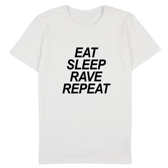 "Футболка чоловіча ""Eat Sleep Rave Repeat"""