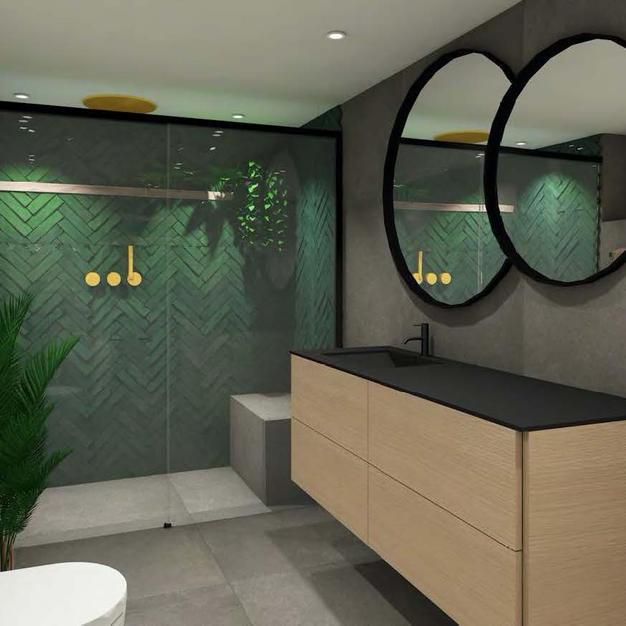 Fliser til badet - Prosjekt 6 - Bilde 1.