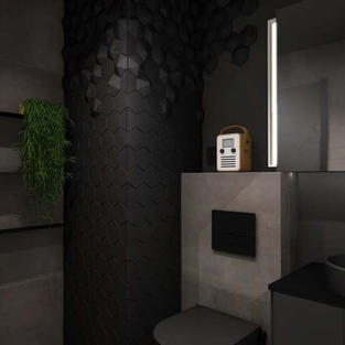 Fliser til badet - Prosjekt 8 - Bilde 1.