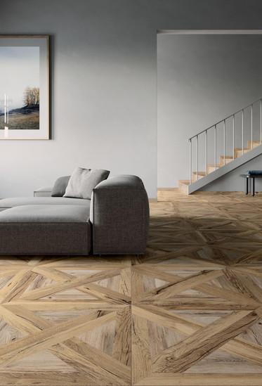 Mansion Goldbrown 60 X 60 cm