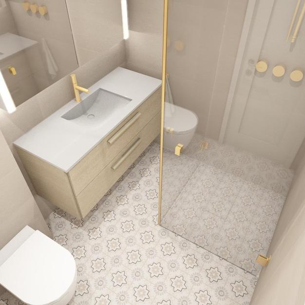 Fliser til badet - Prosjekt 4 - Bilde 2.
