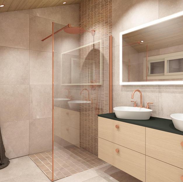Fliser til badet - Prosjekt 2 - Bilde 1.