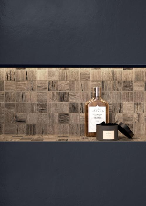 Brown Mosaico 30 x 30 cm