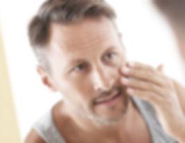 Borrado de arrugas hombres
