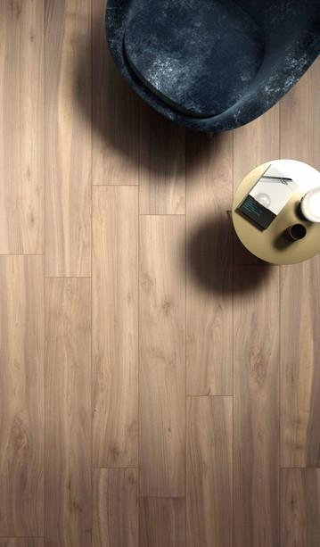Fliser med tremønster - Oak 20 x 120cm