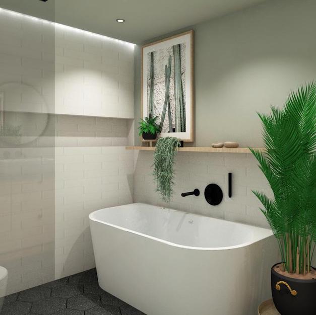 Fliser til badet - Prosjekt 11 - Bilde 2