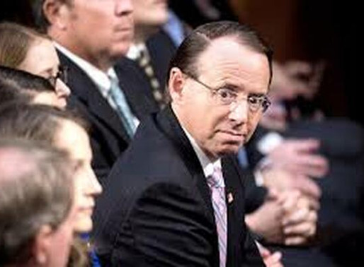 ROD ROSENSTEIN, OUT OR NOT