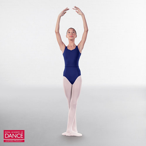 RAD Ballet Grade 5 & 6 Navy Leotard