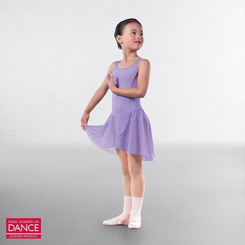 Primary Lilac Skirt Leotard