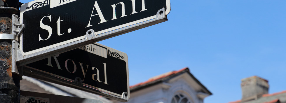 St. Anne & Royal Streets