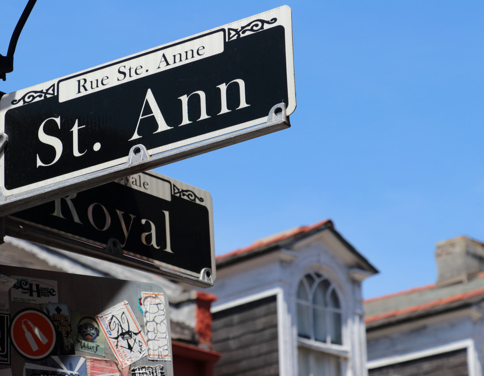 St. Anne & Royal Streets