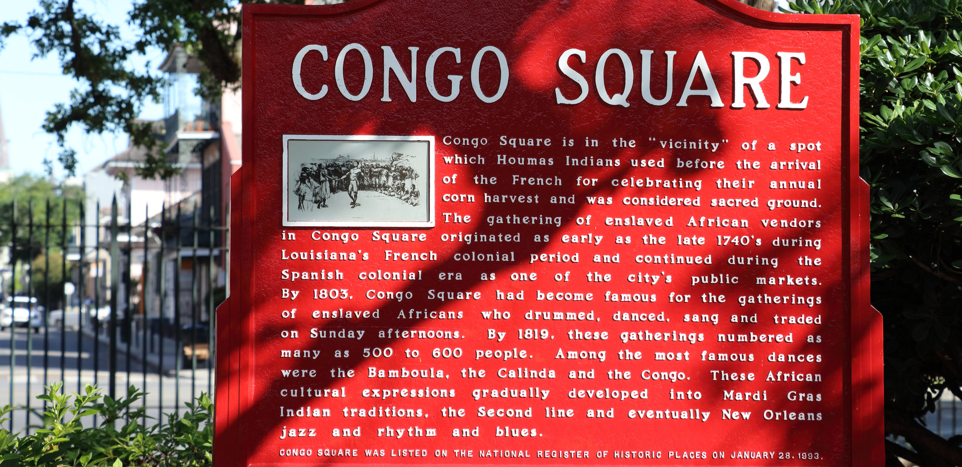 Congo Square in Armstrong Park