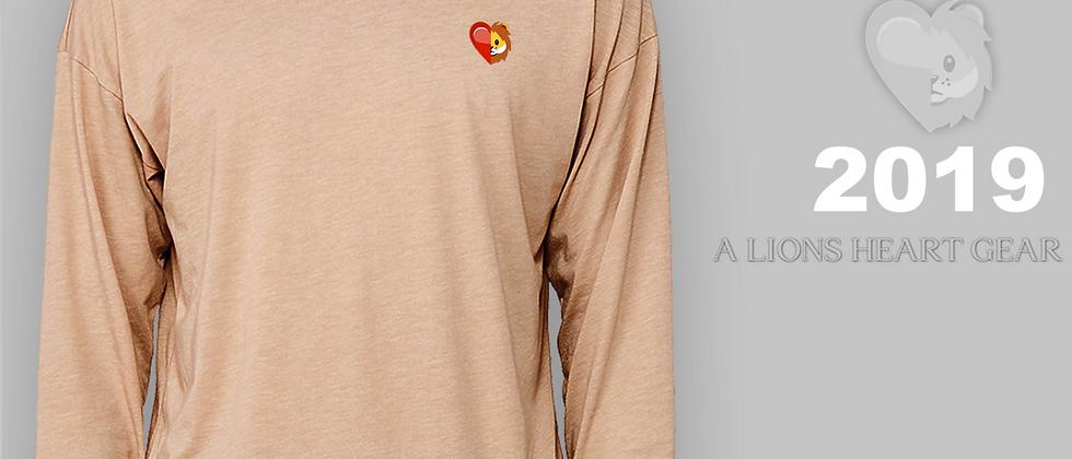 Raw Neck Long-sleeve