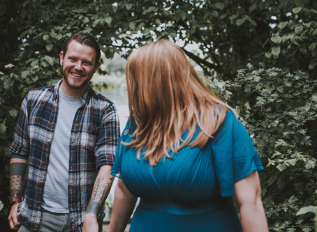 I only went and shot an engaged couple!