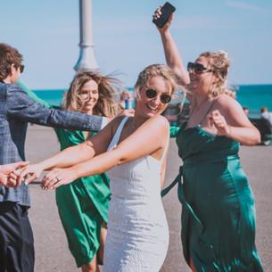 Brighton Beach Hut wedding