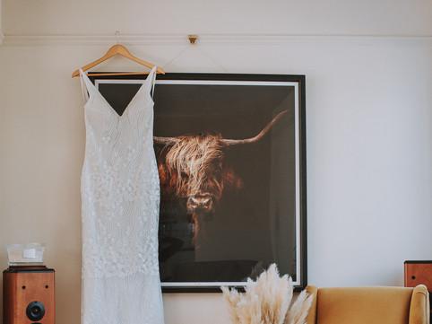 Stylish wedding dress