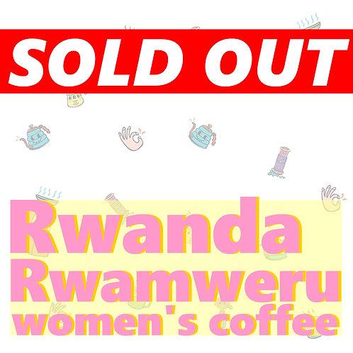 Rwanda Rwamweru women's coffee