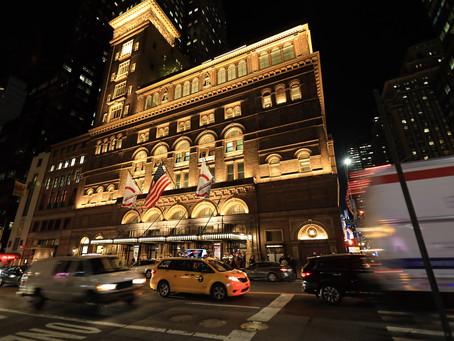 Carnegie Hall Debut Performance