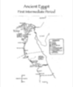 Ancient Egypt Map Pharoah
