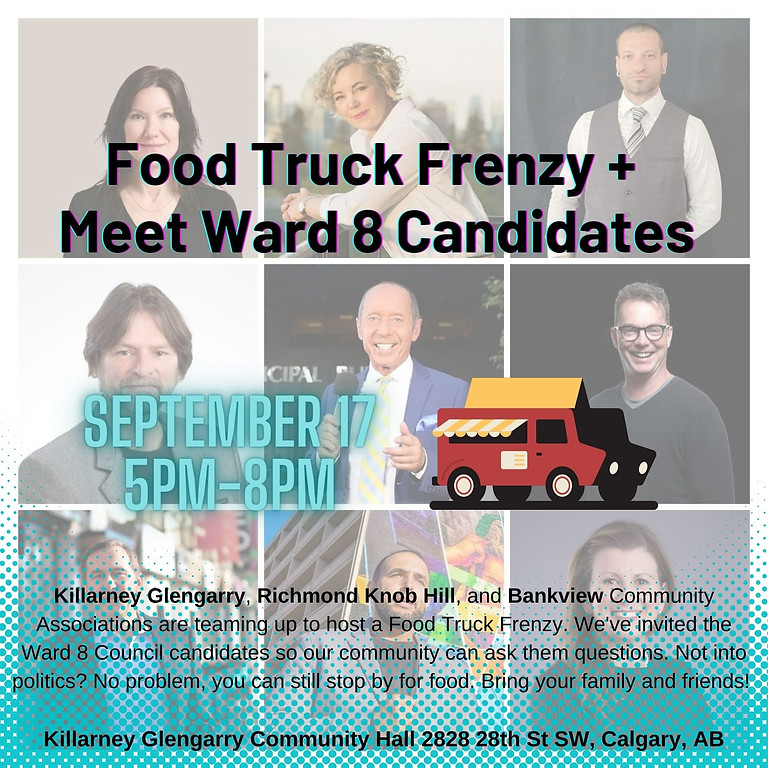 Meet Your Ward 8 Candidates + Food Truck Frenzy