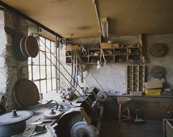 Vue de l'atelier étage