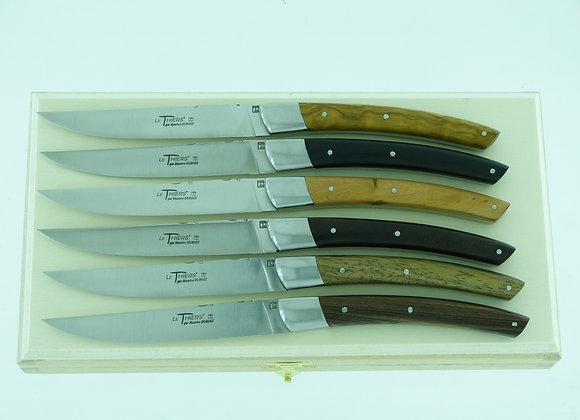 """Couteau de table """"Le Thiers"""" Mitres massives"""