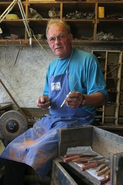 Maurice à l'atelier