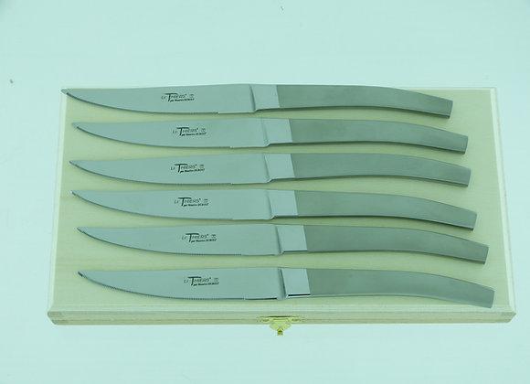 """Couteau de table """"Le Thiers"""" Microbillé"""