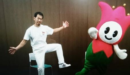 今日は、加古川市の大崎公会堂で「いきいき百歳体操」です!(^o^)丿