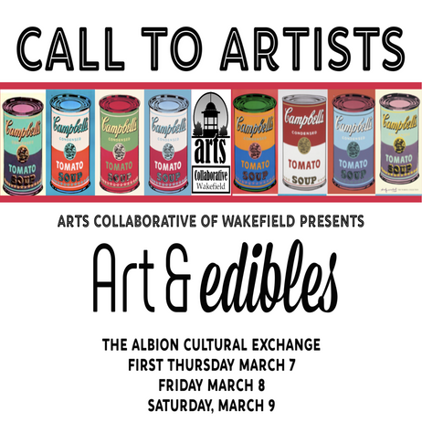 Register for Art & edibles by 2/22/19