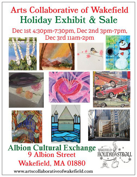 ACW Holiday Exhibit & Sale December 1,2,& 3