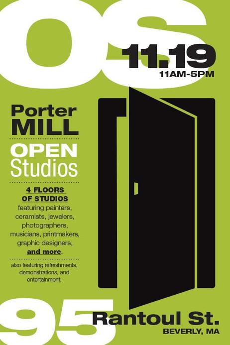 Porter Mill Open Studios 11/19