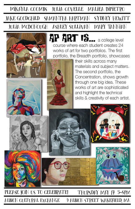 WHS AP Art Show May 17, 2018