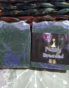 Penny Dreaded Gothic Cold Process Soap Bar
