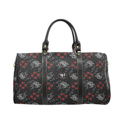 Unicorns and Roses Goth travel bag