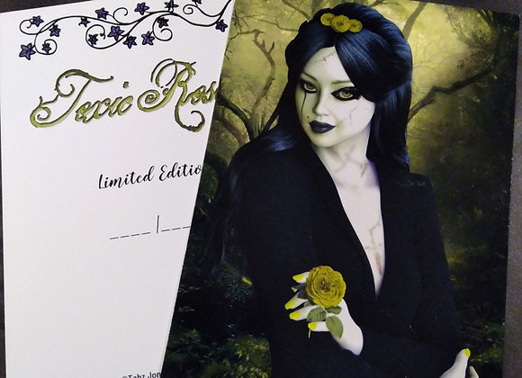 Toxic Rose Limited Edition Art Print