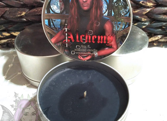 Alchemy With The Devil Gothic Scented Candle