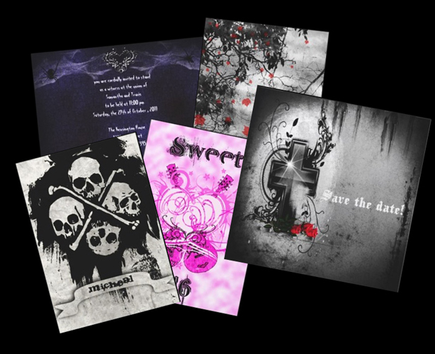 Gothic+Invitations